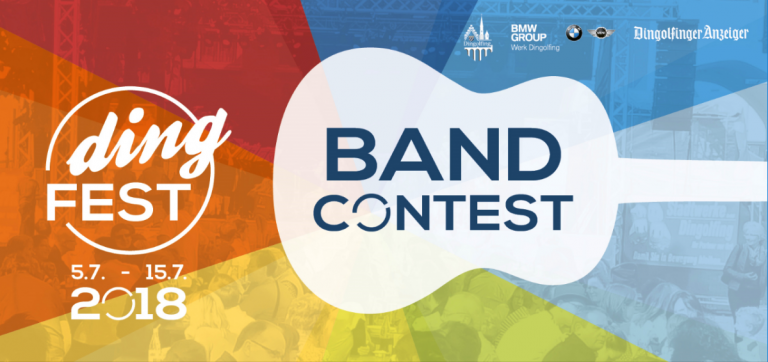 Bandcontest Flyer Vorderseite